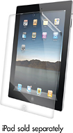ZAGG - InvisibleSHIELD Smudge Screen for Apple® iPad® 2nd-, 3rd- and 4th-Generation
