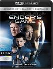 Ender's Game [4k Ultra Hd Blu-ray/blu-ray] [includes Digital Copy] [2 Discs] 4881704