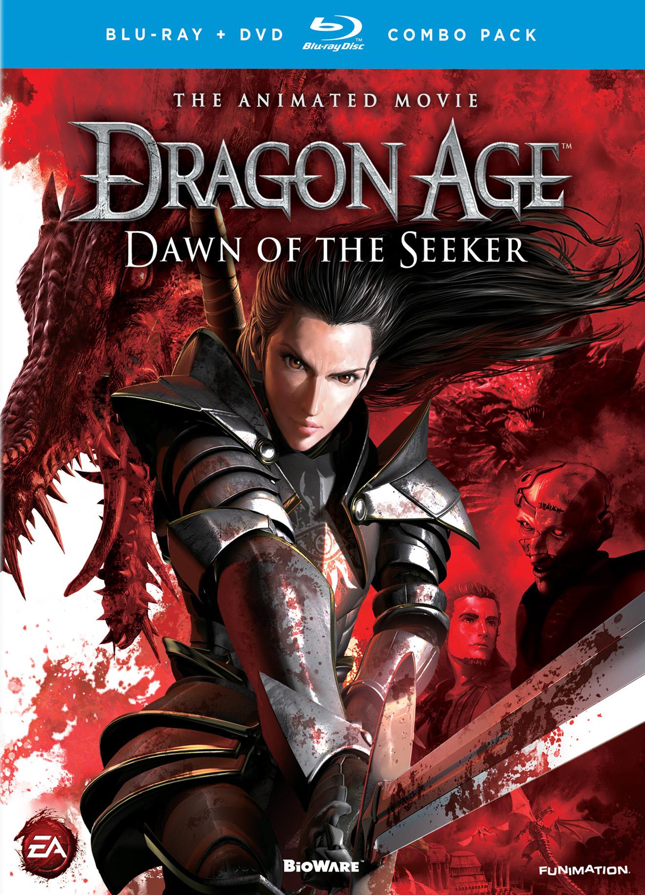 Dragon Age: Dawn Of The Seeker [2 Discs] [blu-ray/dvd] 4882372
