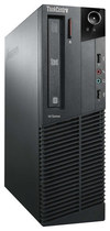 Lenovo - ThinkCentre Desktop - Intel Core i3 - 4GB Memory - 500GB Hard Drive - Business Black