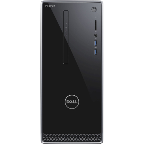 Dell - Inspiron 3650 Desktop - Intel Core i3 - 6GB Memory - 1TB Hard Drive - Black/Silver