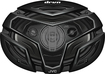 """JVC - DRVN 6"""" x 9"""" 4-Way Coaxial Speakers with Carbon Mica 3D Cones (Pair) - Black"""