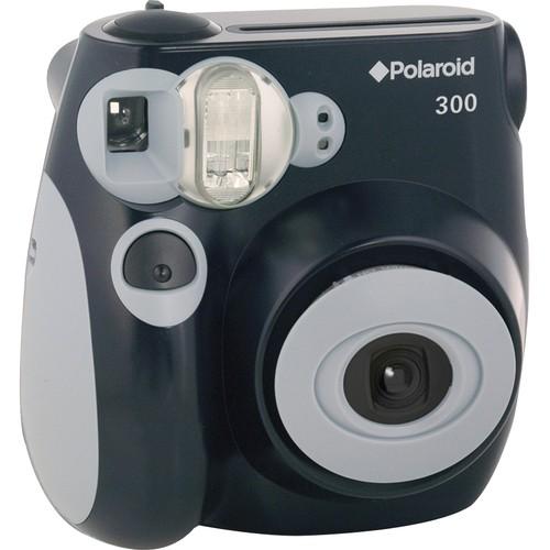 Polaroid - 300 Instant Film Camera - Black