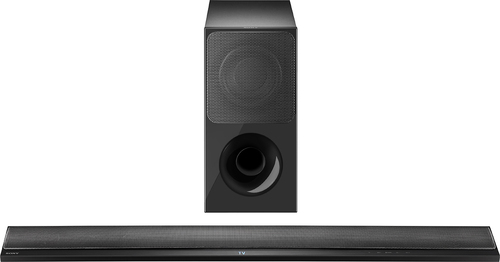 Sony - 2.1-Channel Soundbar System with Wireless Subwoofer - Black