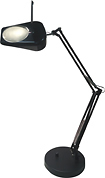 Adesso - 10W Dimmable LED Desk Lamp - Black