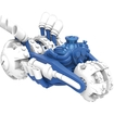 Activision - Skylanders Superchargers Vehicle Pack (power Blue Gold Rusher) 4893601