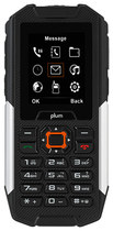 Plum - Ram Plus 2g With 128mb Cell Phone  - Black/silver