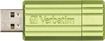 Verbatim - Store 'n' Go Pinstripe 8GB USB Drive - Green