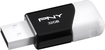 PNY - Compact Attaché 32GB USB 2.0 Flash Drive - Black