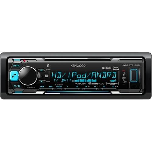 Kenwood - Apple iPod- and Satellite Radio-Ready - In-Dash Receiver - Black