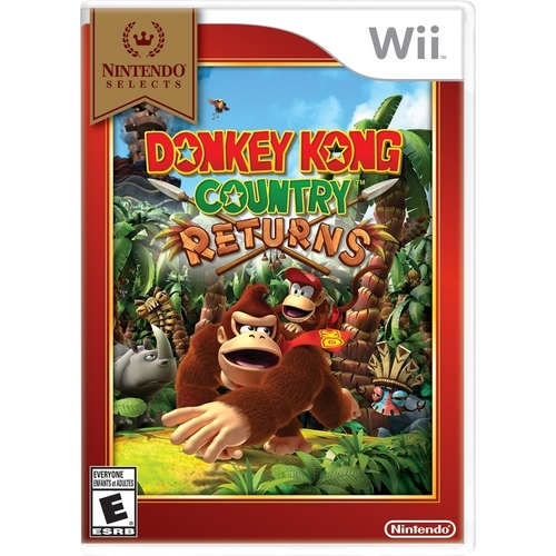 Nintendo Selects: Donkey Kong Country Returns - Nintendo Wii