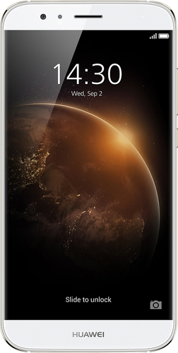 Huawei - GX8 4G with 16GB Memory Cell Phone (Unlocked) - Silver