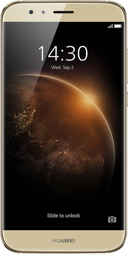 Huawei - GX8 4G with 16GB Memory Cell Phone (Unlocked) - Golden