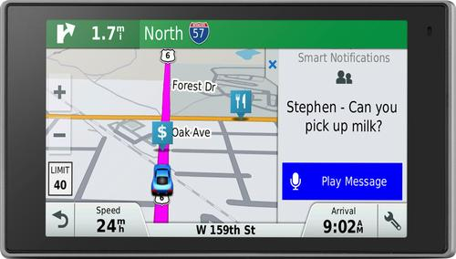 Garmin - DriveLuxe 50LMTHD 5 GPS with Built-In Bluetooth, Lifetime Map Updates and Lifetime Traffic Updates