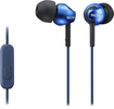 Sony - Step-Up EX Series Earbud Headset - Blue