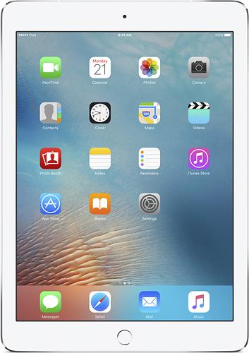Apple - 9.7-Inch iPad Pro with Wi-Fi + Cellular - 128GB - Silver