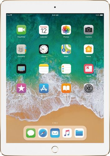 Apple - 9.7-Inch iPad Pro with Wi-Fi + Cellular - 128GB - Gold