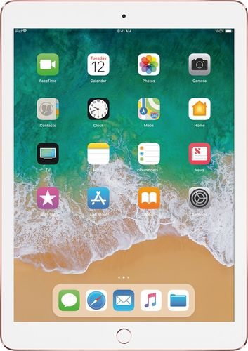 Apple - 9.7-Inch iPad Pro with Wi-Fi + Cellular - 128GB - Rose Gold