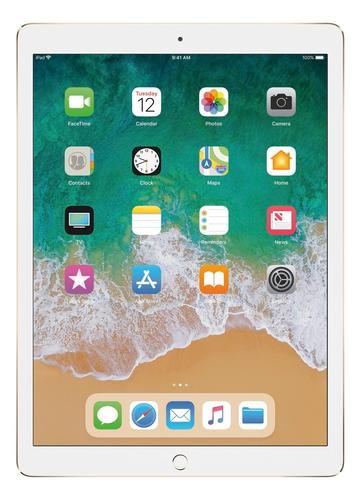 Apple - 12.9- Inch iPad Pro with Wi-Fi + Cellular - 256 GB - Gold