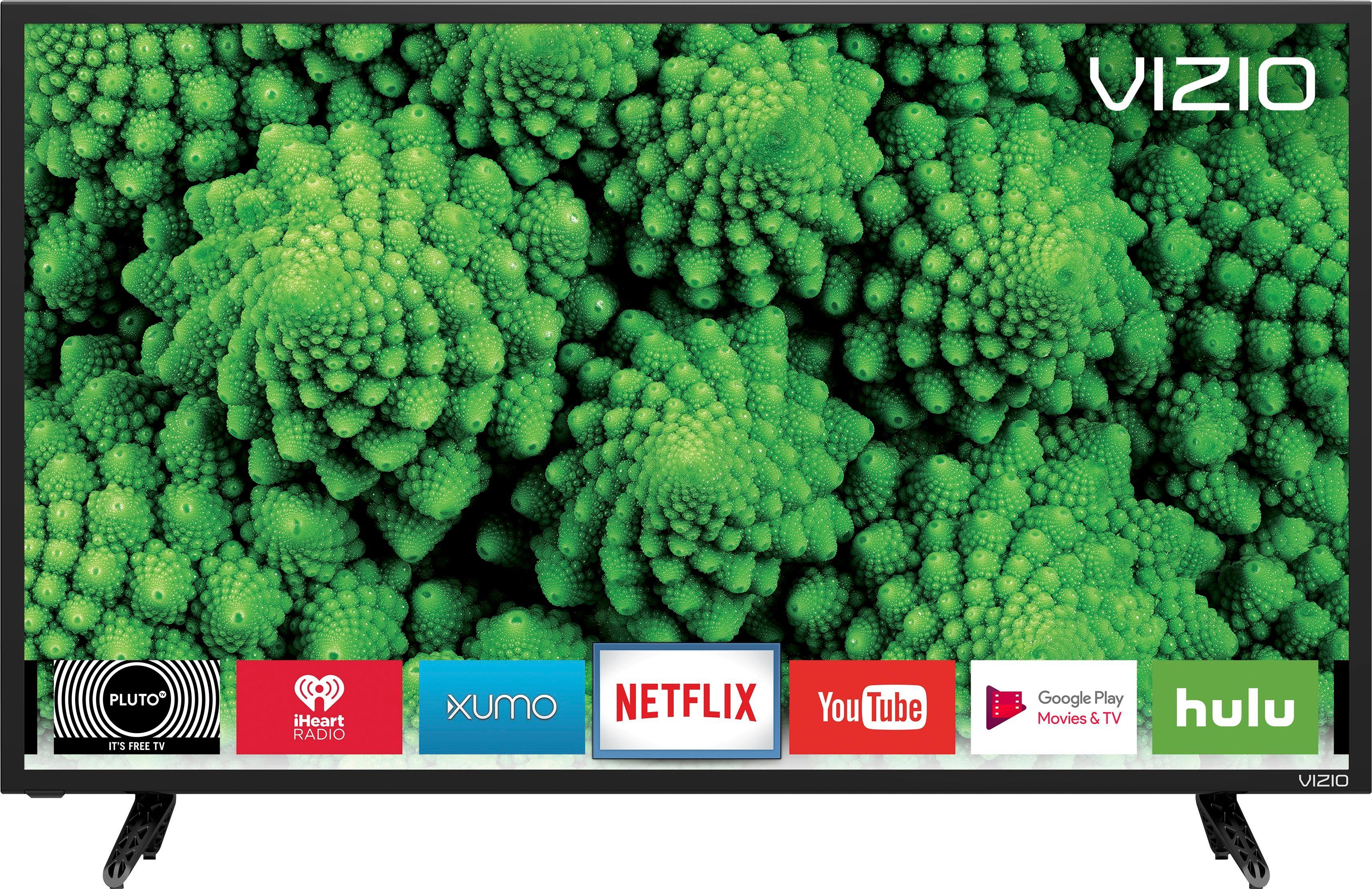 Vizio - 32 Class - (31.51 Diag.) - LED - 1080p - Smart - HDTV - Black