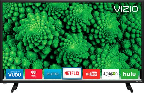 Vizio - 24 Class (23.54 Diag.) - LED - 1080p - Smart - HDTV - Black