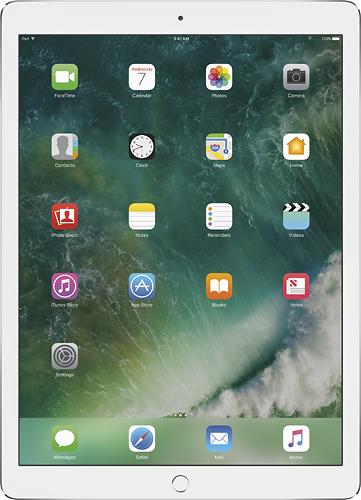 Apple - 12.9- Inch iPad Pro with Wi-Fi - 256 GB - Silver