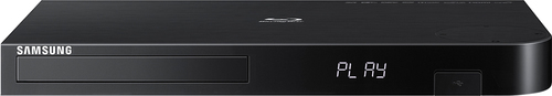 Samsung - BD-J6300 -  Streaming 4K Upscaling 3D Wi-Fi Built-In Blu-ray Player - Black