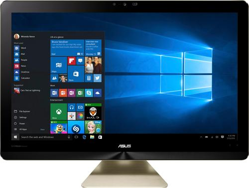 Asus - Zen AiO Pro Z240IC 23.8 4K Ultra HD Touch-Screen All-In-One - 12GB Memory - 1TB HDD + 8GB Sshd - Icicle Gold