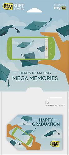 Best Buy GC - $50 Grads Mega Memories Gift Card - Multi