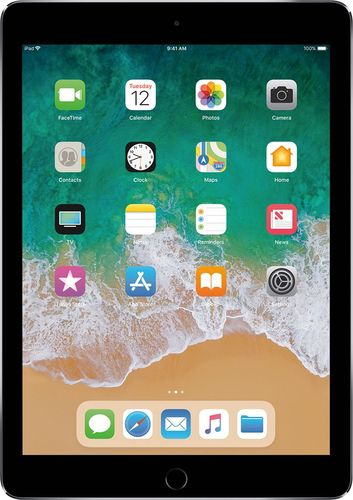 Apple - 9.7-Inch iPad Pro with Wi-Fi + Cellular - 128GB - Space Gray