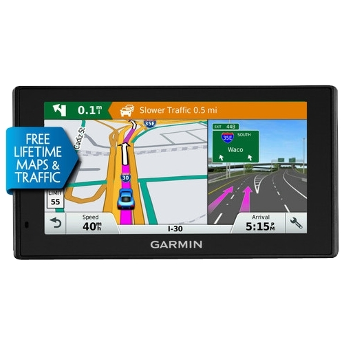 Garmin - DriveSmart 70LMT 7 GPS with Built-In Bluetooth, Lifetime Map Updates and Lifetime Traffic Updates