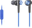 Sony - Earbud Headphones - Blue