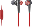 Sony - Earbud Headphones - Red