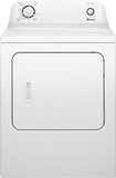 Amana - 6.5 Cu. Ft. 11-Cycle Gas Dryer - White