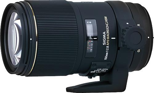 Sigma - 150mm f/2.8 EX DG OS HSM APO Macro Lens for Canon EF/EF-S DSLR Cameras - Black