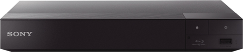 Sony - BDP-S6700 Streaming 4K Upscaling Wi-Fi Built-In Blu-ray Player - Black BDP-S6700