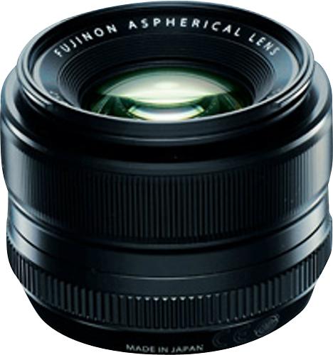 Fujifilm - FUJINON XF 35mm f/1.4 R Standard Lens for Fujifilm X-Mount System Cameras - Black