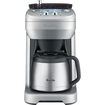 Breville® - The Grid Control™ 12-Cup Coffeemaker - Silver