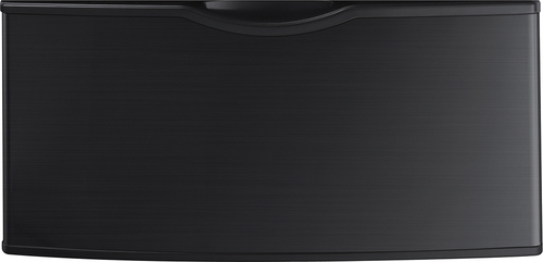 Samsung - Washer/Dryer Laundry Pedestal - Black Stainless