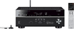 Yamaha - 875W 7.2-Ch. Network-Ready 4K Ultra HD and 3D Pass-Through A/V Home Theater Receiver - Black