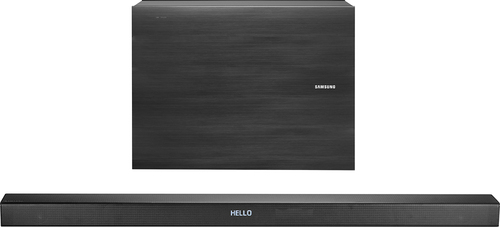 Samsung - 3.1-Channel Soundbar System with Wireless Subwoofer - Black
