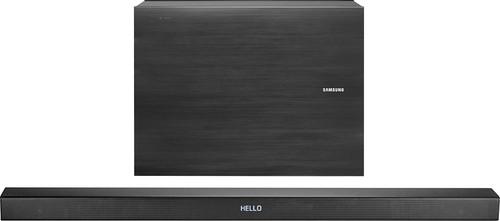 Samsung - 3.1-Channel Soundbar System with Wireless Subwoofer - Black