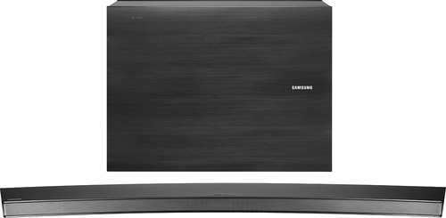 Samsung - 8.1-Channel Curved Soundbar System with Wireless Subwoofer - Black