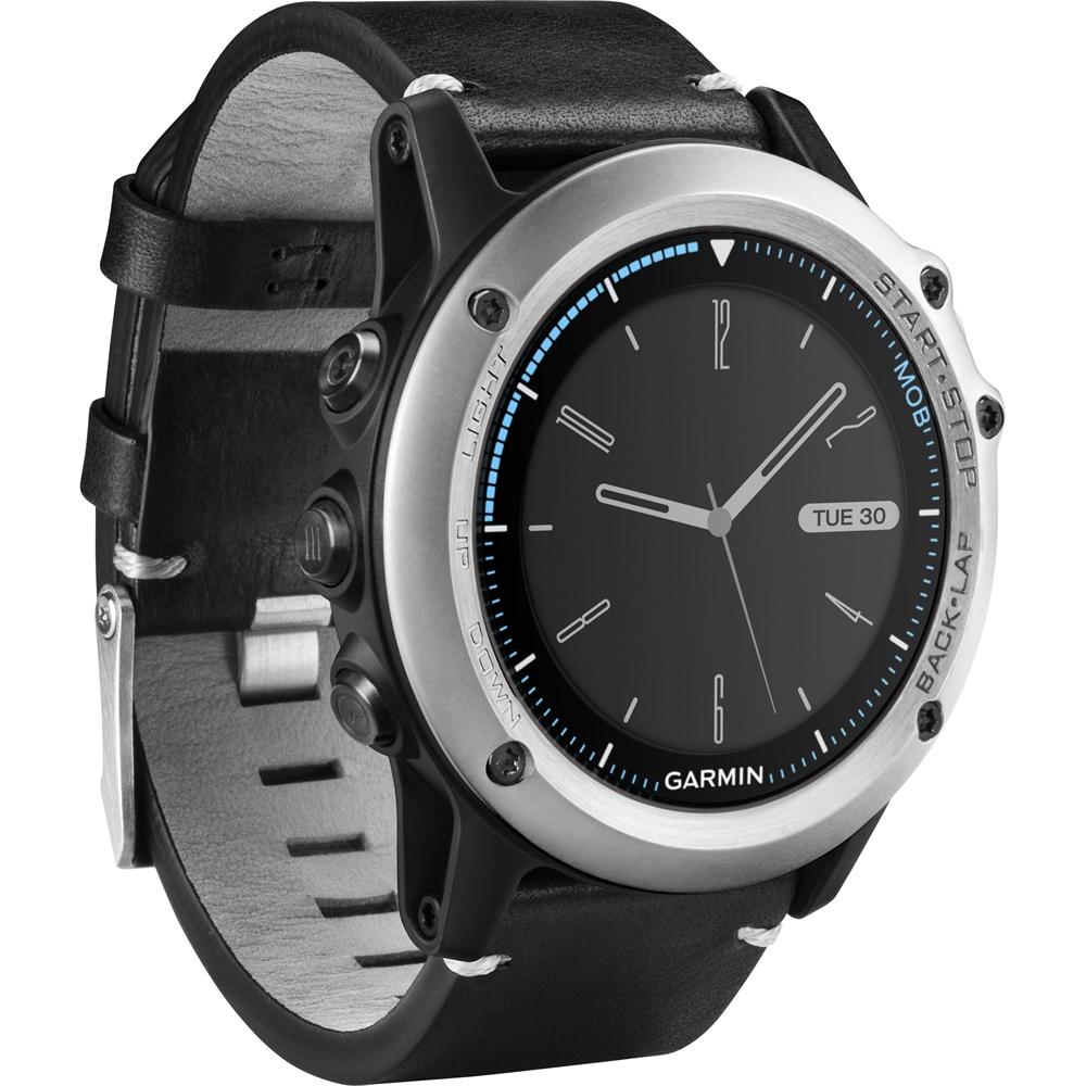 Garmin - Quatix® 3 Smartwatch 30.4mm Stainless Steel