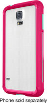 Belkin - AIR PROTECT Grip Bumper Case for Samsung Galaxy S 5 Cell Phones - Magenta