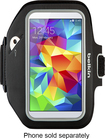 Belkin - Sport-Fit Plus Armband for Samsung Galaxy S 5 Cell Phones - Black