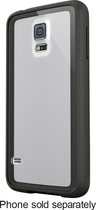 Belkin - AIR PROTECT Grip Vue Case for Samsung Galaxy S 5 Cell Phones - Clear/Black