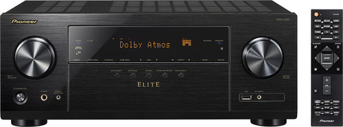 Pioneer - Elite 980W 7.2-Ch. Network-Ready 4K Ultra HD and 3D Pass-Through A/V Home Theater Receiver - Black