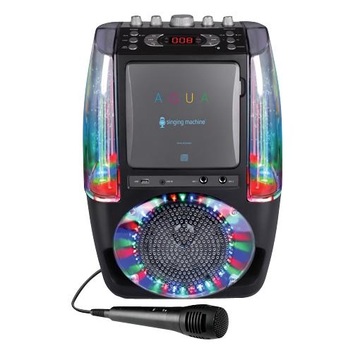 Singing Machine - Cd+g/mp3 Player Karaoke System - Black
