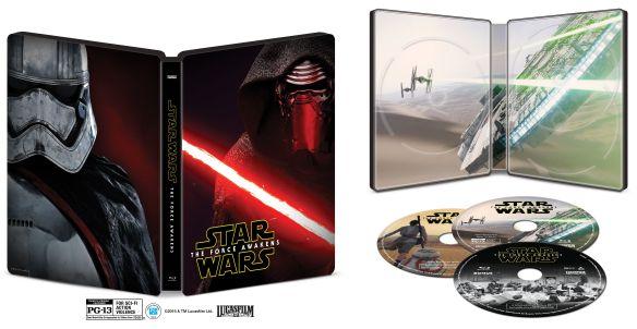Star Wars: The Force Awakens [Blu-ray/DVD] [SteelBook] [Only @ Best Buy]